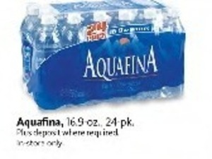Aquafina 16.9-oz. Water Bottles - 24 pk.
