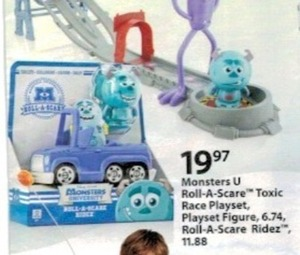 Monsters U Playset Figure