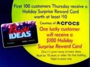 First 100 Customers Thursday
