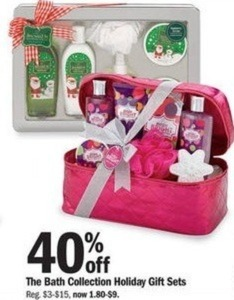 The Bath Collection Holiday Gift Sets