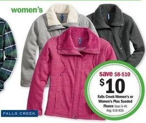 Falls Creek Women's Sueded Fleece