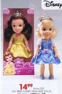 My First Disney Princess Dolls