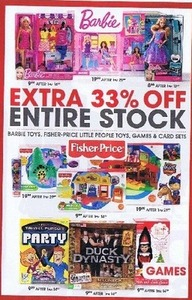 Entire Stock of Fisher-Price Little People Toys