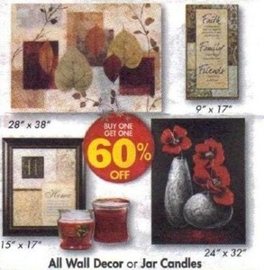 All Wall Decor & Jar Candles