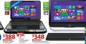 HP Pavilion 15-B129WM Touchsmart Laptop