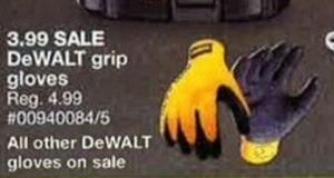 All DeWalt Gloves