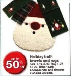 Holiday Bath Towels & Rugs