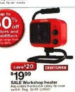Craftsman Workshop Heater