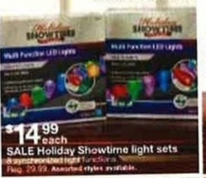 Holiday Showtime Light Sets