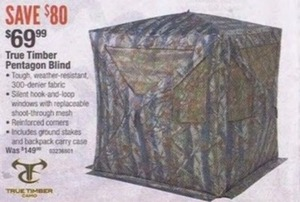 True Timber Pentagon Blind