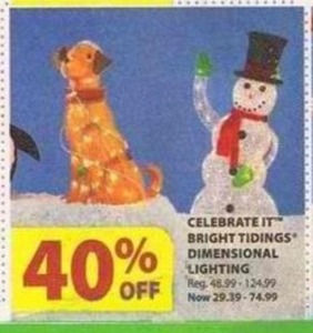 Celebrate It Bright Tidings Dimensional Lighting