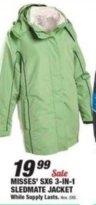 Womens' SX6 3-in-1 Sledmate Jacket