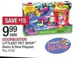 Littlest Pet Shop Swim & Dive Playset