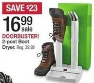 2-post Boot Dryer