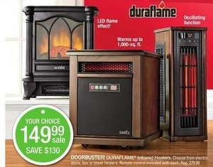 Duraflame Infared Heaters