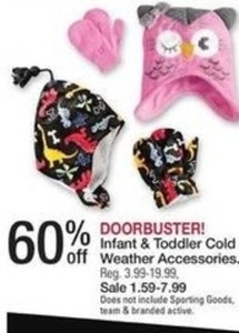 Infant and Toddler Cold Weather Accessories