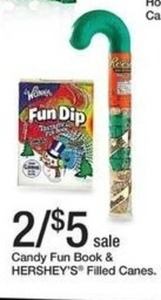 Candy Fun Book & Hershey's Filled Canes