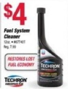 Techron Fuel System Cleaner
