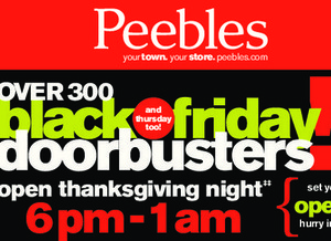 Peeble Black Friday Ad