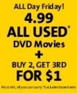All Used DVD Movies