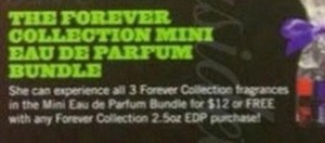 The Forever Collection Mini Eau De Parfume Bundle w/ Forever Collection 2.5oz EDP order