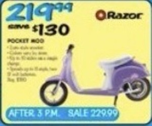 Razor Pocket Scooter