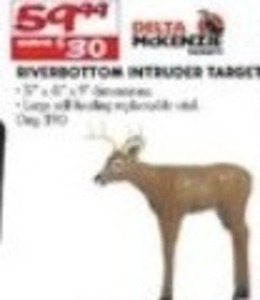 Riverbottom Intruder Target