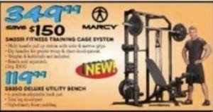 Marcy Fitness Training Cage System