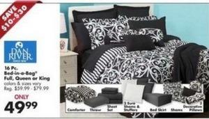 Dan River 16PC Bed-in-a-Bag Set