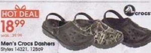 Men's Crocs Dashers