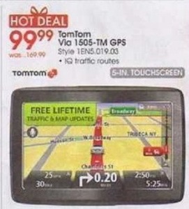 Tom Tom Via 1505-TM GPS
