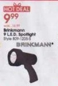 Brinkman 9 LED Spotlight