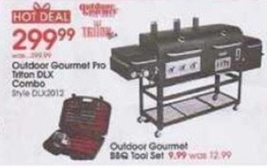 Outdoor Gourmet BBQ Tool Set