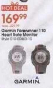 Garmin Forerunner 110 Heart Rate Monitor
