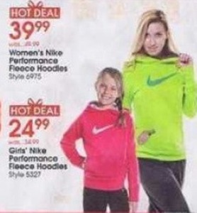 Women's Nike Performance Fleece Hoodies