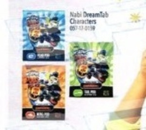 Nabi DreamTab Characters Head Pod