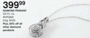 1/2 ct. tw. Diamond Pendant