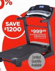 Freemotion 800 Treadmill