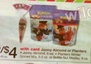 Jonny Almond or Planters