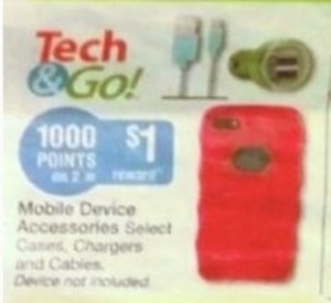 Mobile Device Accessories + 1000 Points