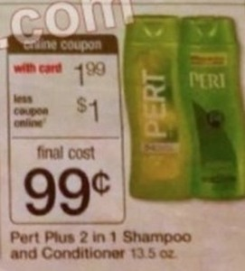 Pert Plus 2 in 1 Shampoo and Conditioner