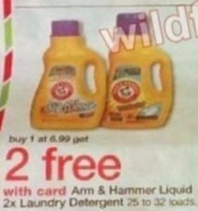 Arm & Hammer Liquid 2x Laundry Detergent