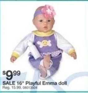 """16"""" Playful Emma Doll"""