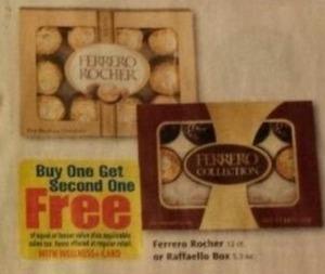 Ferrero Rocher or Raffaello Box