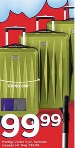 Prodigy Vector 3-Pc. Hardside Luggage Set