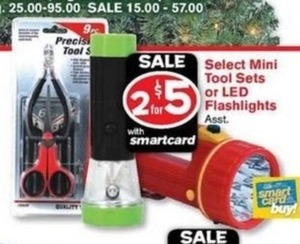 LED Flashlights w/ Smartcard