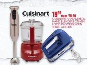 Cuisinart Hand Mixers, Hand Blenders, or Mini Food Processors