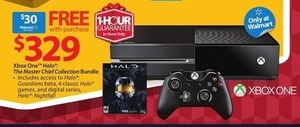 Xbox One Halo: The Master Chief Collection Bundle + $30 GC - Thursday