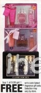 Select $9.99 Fragrance Gift Sets