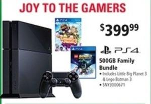 Sony PS4 Famiy Bundle